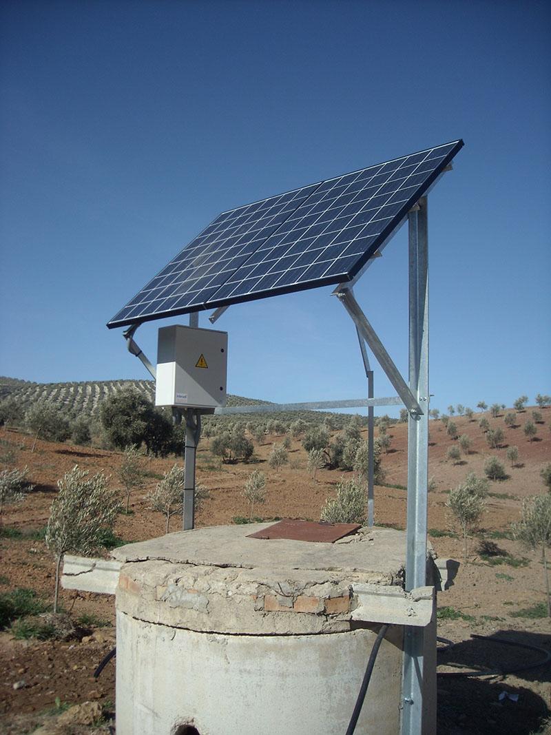 bomba solar en pozo - inbradi s.l.